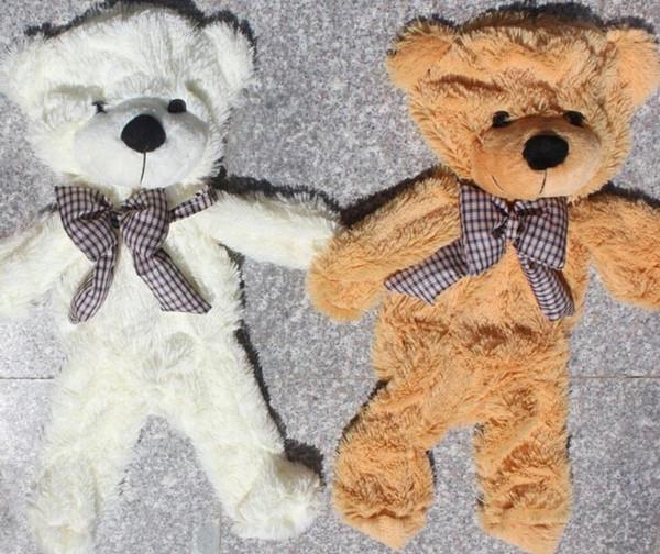 Оптовая торговля-Бесплатная доставка 140см / 1.4 м цена по прейскуранту завода гигантский плюшевый мишка оболочки высокое качество детские мягкие игрушки медведь кожи оболочки рождественские подарки