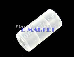 Wholesale C Battery Case - Wholesale-New 4PCS Batteries Adaptor Holder Case Converter Switcher LR06 AA to C LR14 LR06 LR Size TK0115 3F