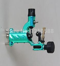 Wholesale rotary irons - Wholesale-New Pro Rotary Tattoo Machine Gun Dragonfly V3 With RCA Tattoo Machines Shader And Liner Hot Sale Red color