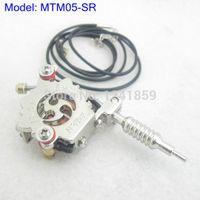Wholesale Silver Tattoo Machine Pendant - Wholesale-Silver Mini Toy Tattoo machine Gun With Chain As Pendant Ornament Necklace Supply MTM05-SR#
