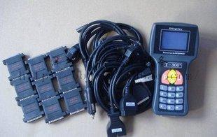 Programmatore chiave T300 V9.2 Codice T Codice lettore auto con 7 cavi 9 Adattatori Strumento scanner auto