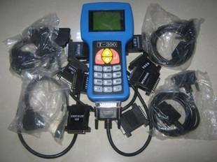 T300 Key Programmer V9.2 con 7 Cables 9 Adaptadores T Code Car Code Scanner