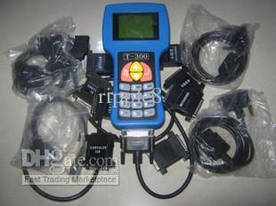 T300 키 프로그래머 V9.2 T 코드 자동차 코드 리더 7 케이블 9 어댑터 자동차 스캐너 도구