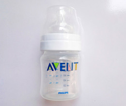 free baby packs Coupons - Wholesale-Original AVENT Feeding Bottle   Avent Nursing Bottle   Avent Newborn baby Classic bottle 4oz 125ml 3 Piece   Pack BPA free