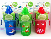 Wholesale Avent Baby Cup - Wholesale-New AVENT Spill-Proof 12 Ounce  340ml BPA Free Spout Cup,baby products, large Straw Cup, newborn baby feeding eat Bottle