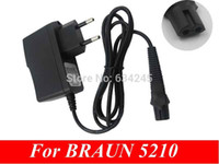 carregadores de barbear venda por atacado-Venda por atacado- UE Wall Plug Power Adapter AC Power Charger para BRAUN Shaver 5497 5210 5733 5734 5735 5736 5738 5739
