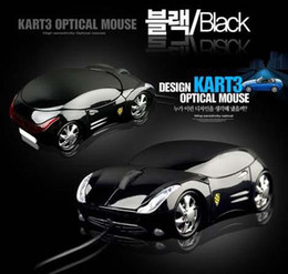 Wholesale Novelty Usb Mice - China Post Air !!! Novelty Mouse Design Kart 3 Optical Mouse Mini Computer Extreme Racing Car Mouse