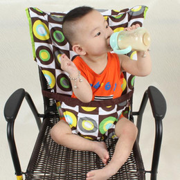 Wholesale Baby Chair Harness - Wholesale-Baby Chair Portable Infant Seat Product Dining Lunch Chair   Seat Safety Belt Feeding High Chair Harness Baby Carrier