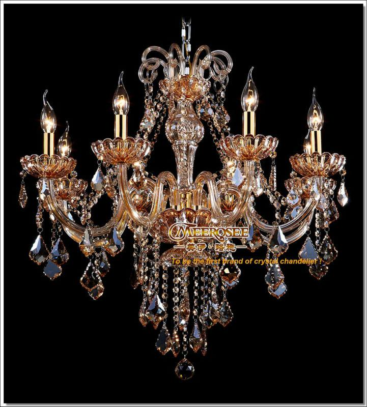 Wholesale Factory Direct Amber Crystal Chandelier Lights Lustre ...