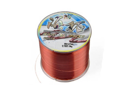 Chinese  Wholesale-500 m sea rods polyethy line fishing line fishing lines 0.25 0.30 0.35 0.40 0.45 0.50 manufacturers