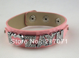 Wholesale I Love Niall - Wholesale-One direction leather jewelry I love ZAYN NIALL LIAM LOUIS HARRY jewelry Free shipping