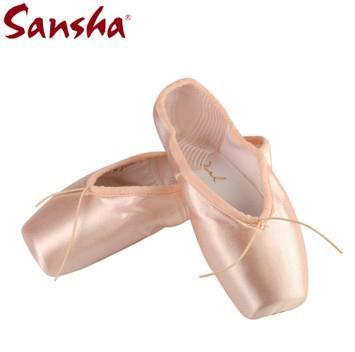 Balletto Da Tedesco All'ingrosso Acquista Durezza Sansha Scarpe Ballo Donne Pointe A Di FRDuval Materiale Nastri Gambo Diversi Raso Scegliere A34jR5L
