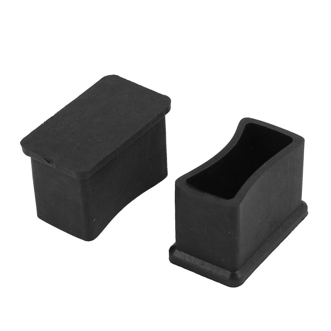 2019 30mm X 15mm Rectangular Rubber Furniture Leg Foot