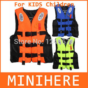 Wholesale Outdoor Life Vest Life Jacket Professional Swimwear Swimming Fishing Water Sport Life Vests Clothes For Kids Children Baby