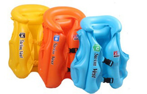 Wholesale Cartoon Life Jacket Vest Kids Inflatable Baby Life Vest Kids Baby Swimming Vest Clothing Kid Jacket