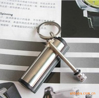 Wholesale Magnesium Fire Steel - Wholesale-20pcs New emergency match box 10000 times Stainless steel outdoor survival magnesium rod lighter flint stone fire starter Z028