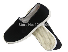 Wholesale Chinese Wing Shoes - Wholesale-Chinese Kung Fu shoes Wing Chun Tai Chi Slipper Martial Art Footwear fashion sneakers