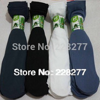 Wholesale Thin Socks For Men - Wholesale-Free Shipping 200pcs=100 pairs Men's Socks,thin for summer spring, man soks sox,cheap,silk stocking