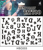 Wholesale Minimum Order Mixed - Wholesale-033 (Minimum order $ 5,Can be mixed batch)hsc033 178 product A variety of design one-time Tattoo Stickers