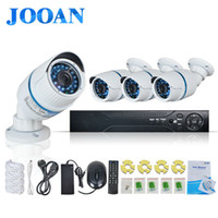 Wholesale Outdoor Nvr - Wholesale-JOOAN 4ch 720p poe cctv system outdoor mini poe ip camera HD recorder 4ch HDMI P2P POE CCTV NVR security home video surveillance