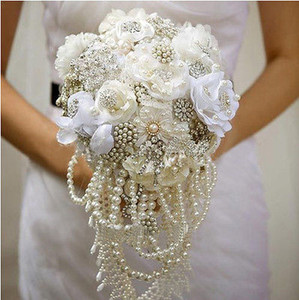 Wholesale-50Ft Colorful 6MM Pearl Bead Garland Spool Rope Wedding Centerpiece Decor on Sale