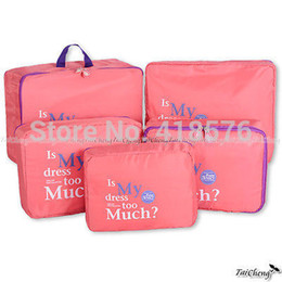 Wholesale Hangers For Underwear - Wholesale-2015 Ver.2 Portable Travel Organizer Bag Clothes Pouch Portable Suitcase Luggage Storage Case For Underwear organizer Drawer New
