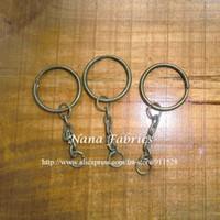 Wholesale Antique Chain Purse - Wholesale-Free Shipping! 100pcs Metal Purse Frame Key Chain Antique Brass Color Wholesale