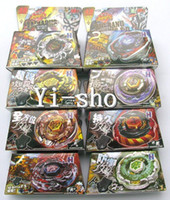 Wholesale Dry Foam - Wholesale-Wholesale -8 sets TOMY Rapidity Beyblade 4D spinning top spin toy metal fusion 8 models mixed 3013