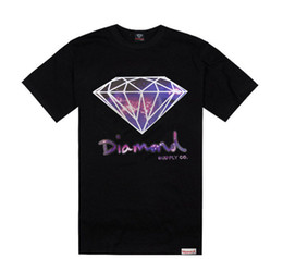 Wholesale Diamond Supply Crew Necks - Wholesale-Free shipping 2015 mens hip hop t shirt new style diamond supply mens tees