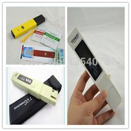 Al por mayor-3 PC / lote TDS EC Meter / Tester, medidor de PH EC, medidor de conductividad Pen, acuario, probador de calidad del agua del filtro desde fabricantes