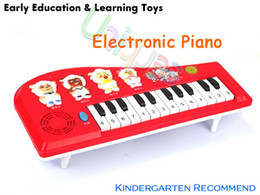 Wholesale Toy Electric Organ - Wholesale-Music Toy Baby Toy Piano Electronic Keyboard Organ Musical Toys Instrument for Children Kids Educational Electric Toy