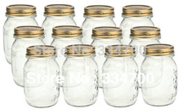 """Wholesale Food Discount - Wholesale-HOT Buy 2 lots 15% Discount!!5.3""""H country mason jar with lids USD60.00 for 12pcs Each USD5.00"""