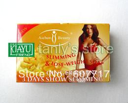 Wholesale Essences For Soaps - Wholesale-Retail body care soap ginger essence 3 days show beauty shape 1 pcs ginger slimming soap