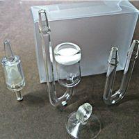 Wholesale Diffuser Aquarium - Wholesale-Free Shipping A Set of Aquarium CO2 Diffuser Check Glass Tube Suction Cup for Fish Tank Aquarium