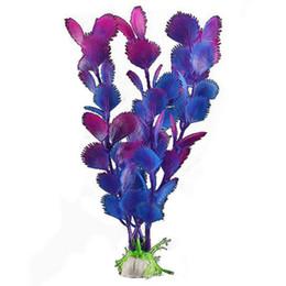 En gros-vente chaude en plastique artificielle eau herbe plante poisson réservoir aquarium ornement décoration ? partir de fabricateur