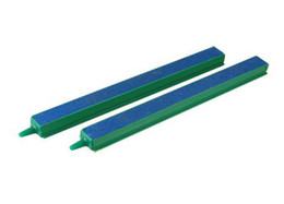 "Wholesale Fish Air Stone - Wholesale-2 Pcs 20cm Fish Tank Parts Plastic Connector Air Bubble Aquarium Air Stone Bar 8"" Green Blue AE01579"