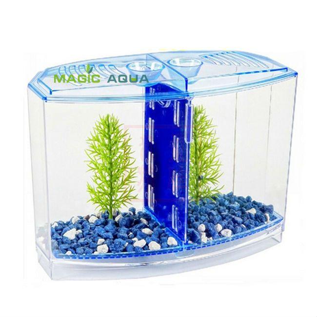2019 Wholesale Fighting Betta Fish Tank Kit Aquarium Fish Tank Twin