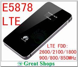 Wholesale Wifi Hotspot Router Unlocked - Wholesale-unlocked huawei e5878 mifi lte e5878s-32 4g wifi router fdd lte 800 4g dongle hotspot 4g packet wifi pk e5776 e589 e5372 b593
