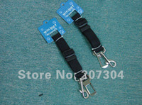 Wholesale Cpam Carrier - Wholesale-Dog Seat Belt Adjustable Pet Cat Dog Safety Leads Car Seat Belt Free Shipping (1pcs pack) By CPAM