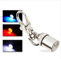 Vente en gros 100pcs-Pet Flasher Clignotant Clignotant LED facile à trouver Collar Pet Dog Cat Safety Tag + batteries