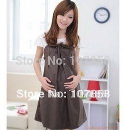 Wholesale Suspenders Pregnant - Wholesale-2015 Hot sale European style suspender dresses Maternity Dresses Pregnant women dresses Maternity skirt maternity clothing