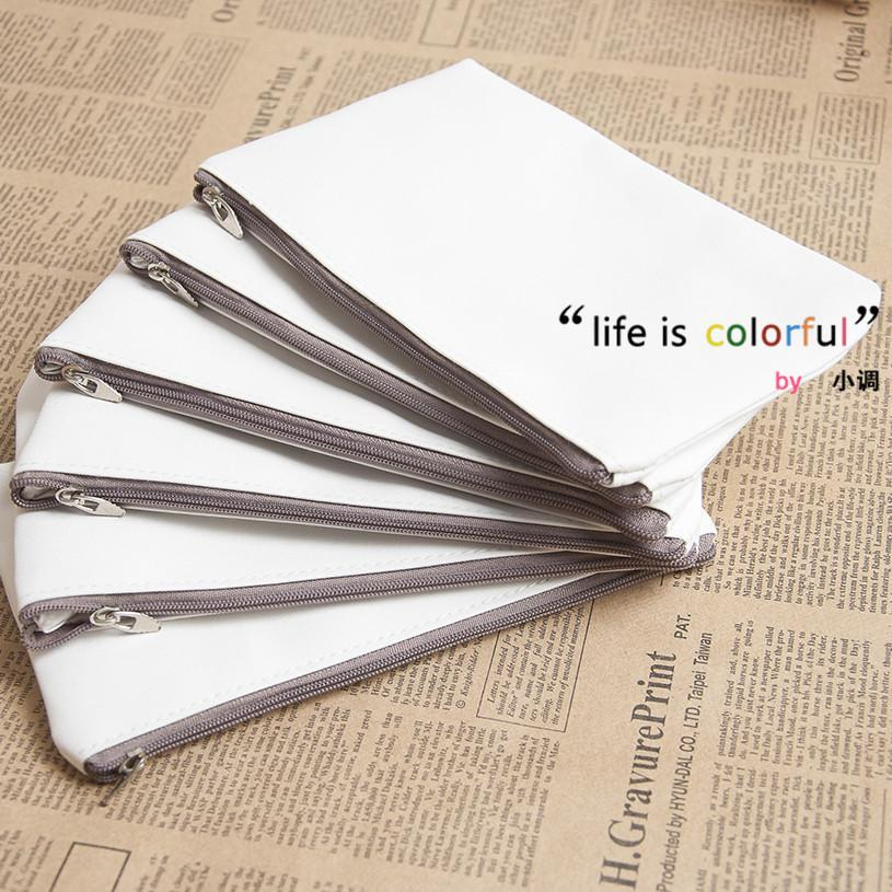 Wholesale Blank Canvas Wallet Day Clutch Thermal Transfer Diy Bag ...
