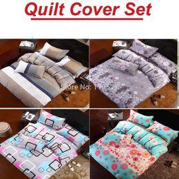 Wholesale King Bedding Set Microfiber - Wholesale-Newly fashion bedding !!!Free Shipping 3 4pcs Bedding Set duvet cover set comforter set QUILT COVER SET WHOLESALE retail