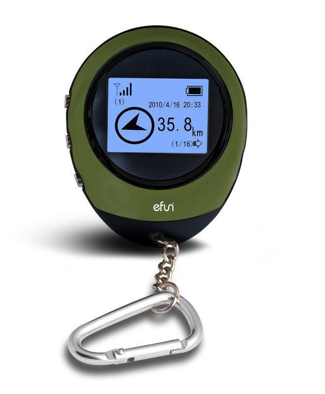스포츠 야외 미니 핸드 헬드 GPS 추적기 휴대용 스노우 기어 GPS 경도, 위도 표시