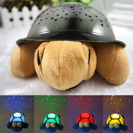 Wholesale Turtle Projection Night Lamp - Wholesale-musical Sleep turtle The turtle sky projection lamp turtle night light stars lamp Small night lamp