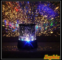 Wholesale Star Night Lamps - Wholesale-2015 Home Theater Projectors Colorful Romantic Night Light Cosmos Star Master LED Projector Lamp View Entertainment