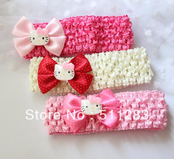 Wholesale-! Cute Hello Kitty Baby Hair Band Baby Headbands   Online with   19.17 Piece on Baili2015 s Store  9a15565d603
