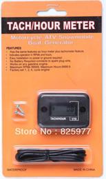 Wholesale Engine Meters - Wholesale-Digital Hour meter tachometer tach digital hour meter for2& 4 stroke gasoline engine