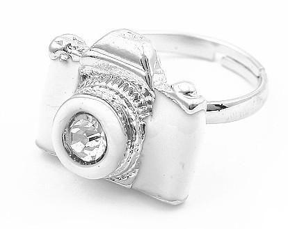 La forma d'annata della macchina fotografica di modo del best seller suona l'anello regolabile retro i /