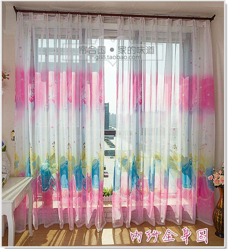 Wholesale Popular Snow White Princess Curtains Girls Pink Sheer Curtain  Fabric Screens For Childrenu0027S Room White Eyelet Curtains Panel Curtain From  Candd, ...